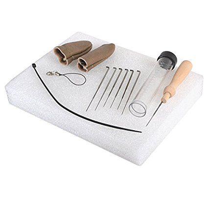 Needle Felting Starter Kit Handle Finger Guards German Glass Eyes 100g Wool Needles Felt Mat Tool Amazon Co Uk Home Tools Improvement Projects Starter Kit