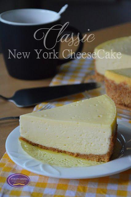 I Pose Desserts Classic New York Cheesecake Kue Keju Resep New York