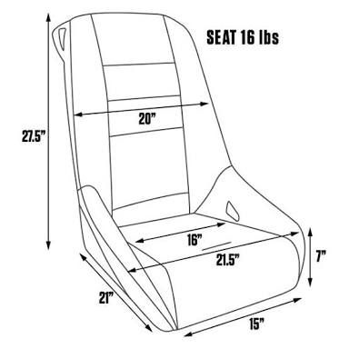 Image Result For Bomber Seat Dimensions Bomber Seats Seating