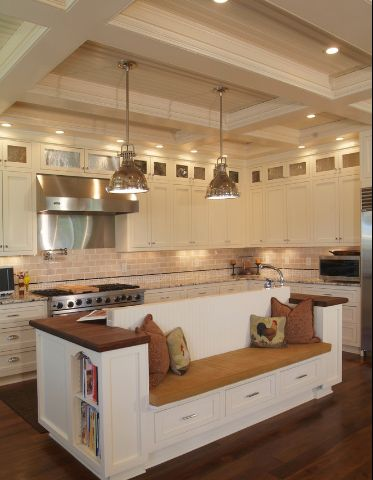new kitchen island designs added to the design ideas tab - Kitchen Island Design Ideas With Seating