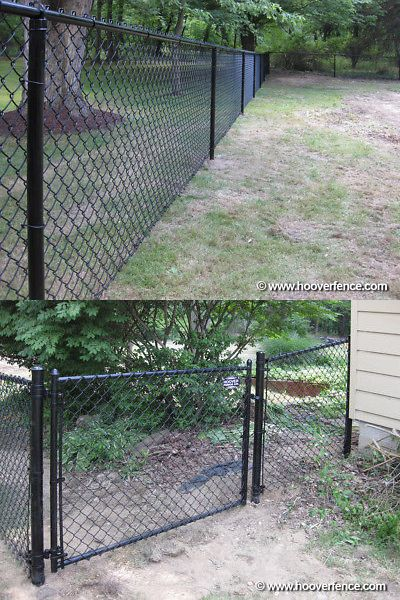 Railings 139950 Black Residential Chain Link Fence Job Lot W