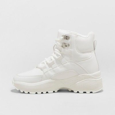 Top Chunky Sneakers - Wild Fable White