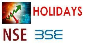 Nse Holidays List 2018 Holiday List Holiday Stock Market