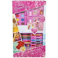 Disney Princess Colouring Case 52 Pieces Stationery /& Art Set