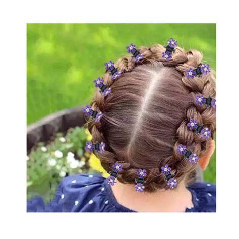 Damen Haarklammer Blumen Haarspange Haargreifer Haarnadel Clip Haarschmuck