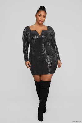 Vestidos Sexis Para Gorditas In 2019 Fashion Glitter