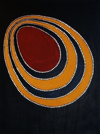 Colour inspiration for Wattle Cove Clutch Bags Vincent Forrester ~ Untitled, 2011