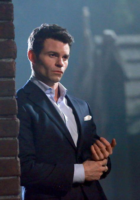The Originals and The Vampire Diaries . Daniel Gillies as Elijah