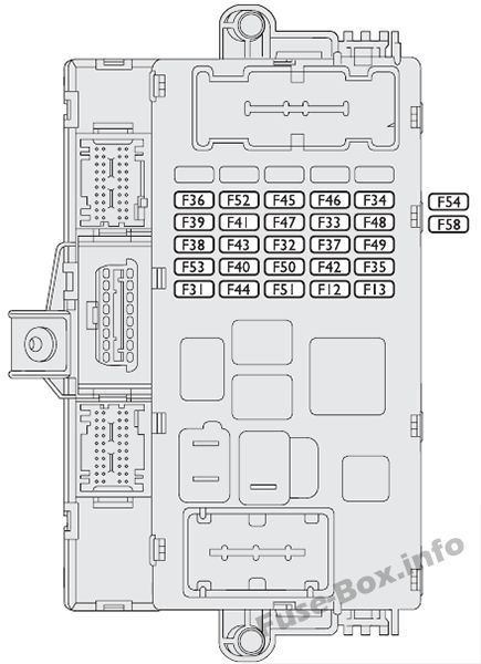 instrument panel fuse box diagram fiat idea (2012) fiat 2014 fiat 500l fuse box diagram fiat idea fuse box #3