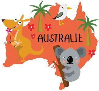 Chansons Comptines Et Poesies Autour De L Australie Kangourous Koalas Australie Comptines Theme Tour Du Monde