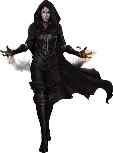 Witcher - 3 Yennefer Render
