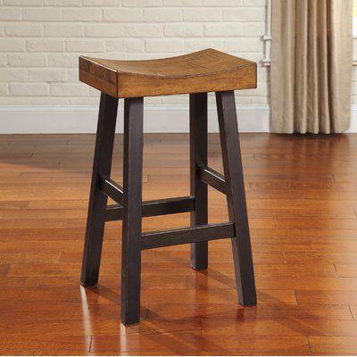 Brilliant Loon Peak Hayden 30 75 Bar Stool Set Of 2 In 2019 Customarchery Wood Chair Design Ideas Customarcherynet
