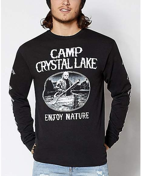 Friday The 13th Hoodie Jason Voorhees Crystal Lake Inspired Hoodie Top
