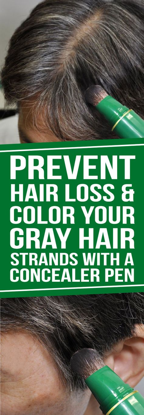 Our Herbal Hair Loss Concealer Pen is a Japanese, water-resistant, herbal fiber, color-stick that offers instant grey and root coverage, with a blendable, mess-free application.