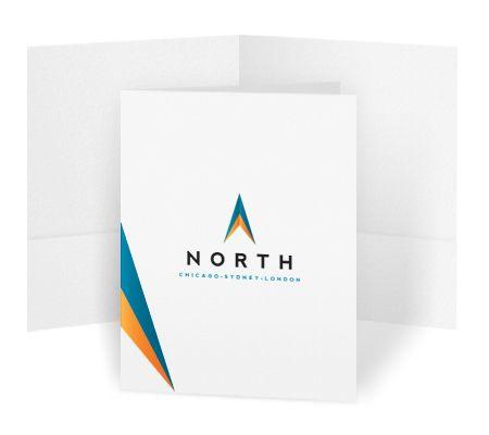 Bulk Pocket Folders Use for press kits, sales presentations - resume folders