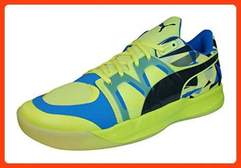 Puma Evo Impact 3 Mens Indoor Court Sneakers Shoes Yellow