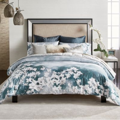 Michael Aram Orchid Sky Bedding Collection In 2021 Elegant Bed Spreads Bedding Collections Elegant Bedding