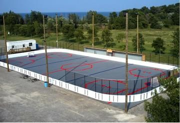 Olympic Size Prowall Rink System Box Lacrosse Hockey Outdoor
