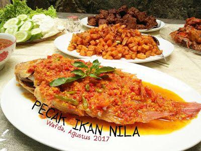Resep Pecak Ikan Nila By Dapurwafda Masakan Resep Masakan Indonesia Makanan Dan Minuman