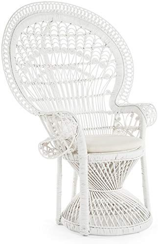 Best Seller Kouboo 1110023 Pecock Grand Peacock Chair Rattan Seat