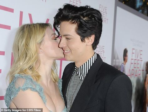 Cole Sprouse and Lili Reinhart attend premiere of Five Feet Apart