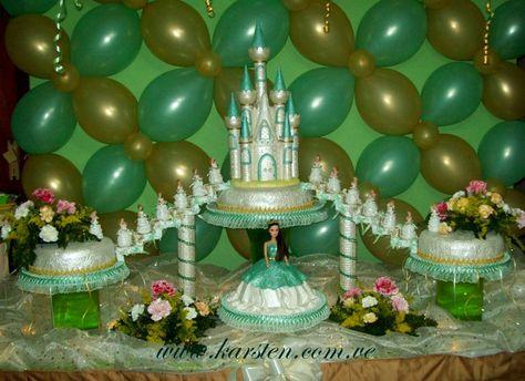 Torta de 15años Castillo de Quinceañeras