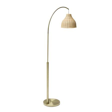 Home In 2020 Floor Lamp Arc Floor Lamps Rattan Lamp