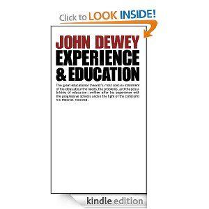Amazon Com Experience And Education Ebook John Dewey Kindle Store Education Kindle Reading Good Books