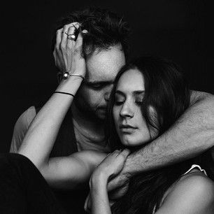 Because they can be uncool around one another.   27 Reasons Troian Bellisario And Patrick J. Adams Should Be Your OTP