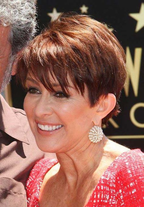1-New Short Haircuts for Older Women