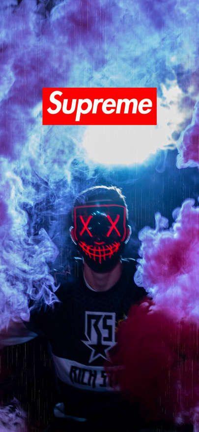2019的download Wallpaper Iphone Xs Xr Xs Max Supreme Wallpaper Mask