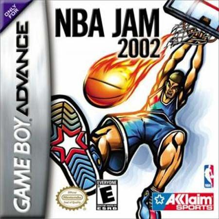 Nba Jam 2002 Usa Gba Rom With Images Nba Jam Gameboy