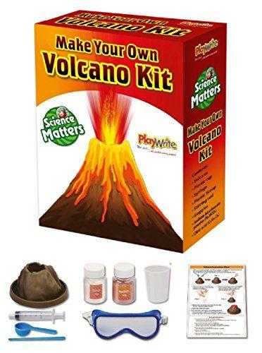 Children/'s Kids hacer su propio erupción del volcán erupción experimento científico Kit