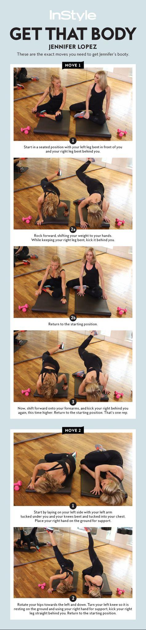 Video: How to Get a Body Like Jennifer Lopez