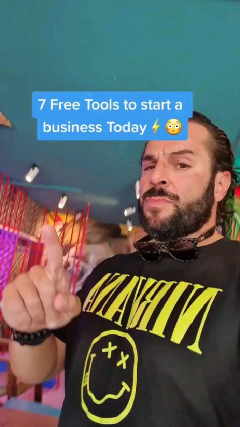 7 free tools to start your business today!📈              (Cr: @simplydigital)