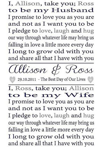 Wedding Vows For Him And Her Romantic Wedding Vows For Him Wedding Ideas Sources Wedding Vows Personalized Wedding Vows