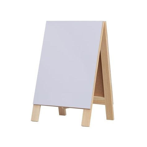 Chalkboard Dry Erase Easel By Artminds Michaels In 2020 Dry Erase Wood Craft Supplies Chalkboard