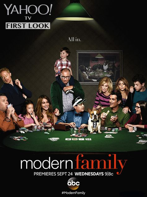 """The """"Modern Family"""" cast looks ready to take some big chances in this first-look promo pic for the show's upcoming sixth season."""