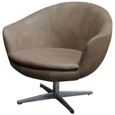 1stdibs Swivel Chair Vintage Swivel Arm Swedish Mid Century