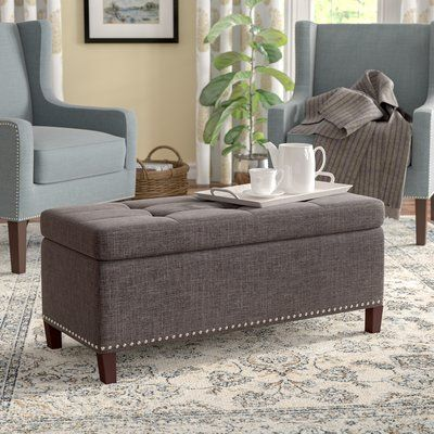 Cool Gracie Oaks Brecksville Tufted Storage Ottoman Hampden Andrewgaddart Wooden Chair Designs For Living Room Andrewgaddartcom