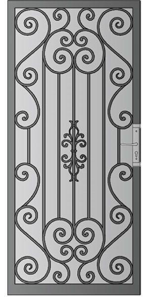 Puertas Metalicas Diseno De Puerta De Hierro Puertas De Metal Puertas De Acero