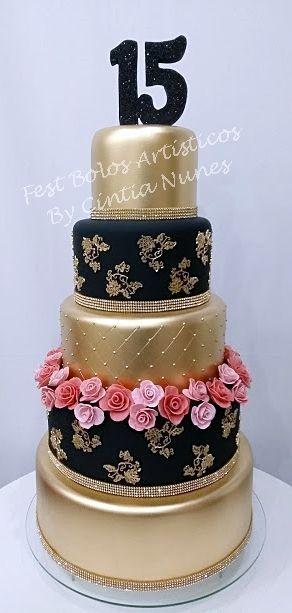 Bolo 15 Anos Cake15thbirthday 15years Debutante