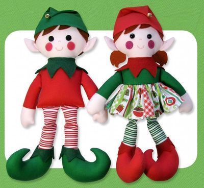 Edward Edwina Elf Sewing Pattern Funky Friends Factory In 2021 Christmas Elf Doll Christmas Sewing Projects Christmas Dolls