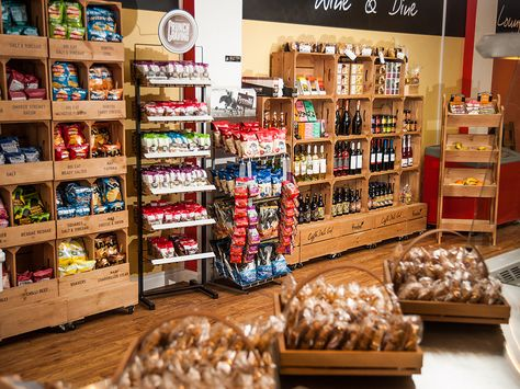 Personalised Wooden Crate Retail Display