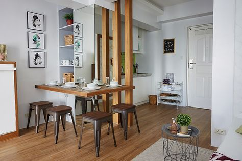 This Pretty Studio Unit In Tagaytay Features Space Saving Pieces