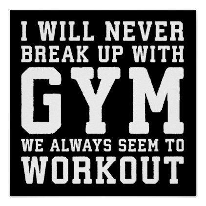 Workout Motivational Poster Zazzle Com Workout Memes Gym Poster Workout Humor