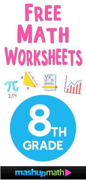 Language Arts Exponents Grade Exponents 8th Grade Math 8th Grade Math Worksheets Middle Scho 8th Grade Math Worksheets Free Math Worksheets 8th Grade Math