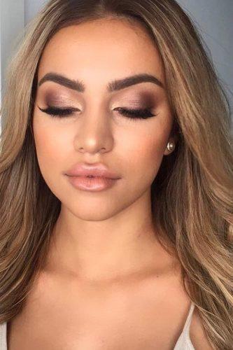 Au Naturale Makeup Look | Almost All Natural Makeup Look | Brown Makeup