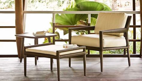 Panama Collection in Bronze classic design for Dedon DEDON l - gartenmobel lounge design