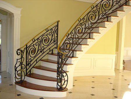 صور درابزين درج للفلل والدوبليكس بأحدث الاشكال ميكساتك Stairways Stairs Brick Patios